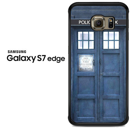 Doctor Who The Tardis Samsung Galaxy S7 Edge Case