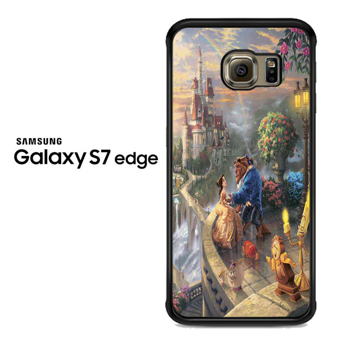 beauty and the beast dancing Samsung Galaxy S7 Edge Case