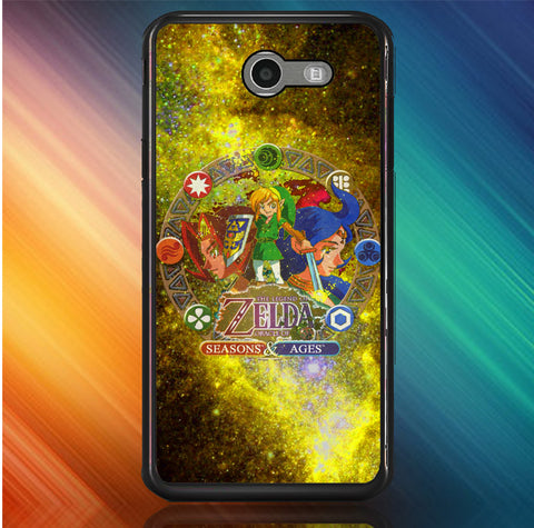Zelda Seasons and Ages Samsung Galaxy J7 V, J7 Sky Pro, J7 Perx 2017 SM J727  Case