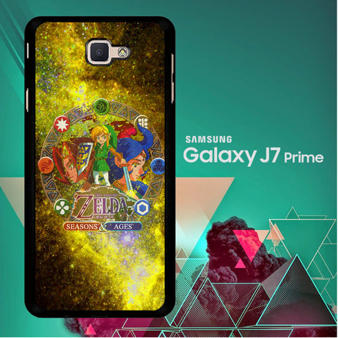 Zelda Seasons and Ages Samsung Galaxy J7 Prime  Case