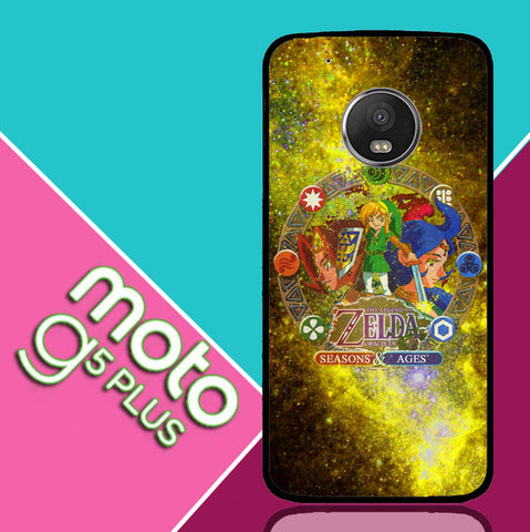 Zelda Seasons and Ages Motorola Moto G5 Plus  Case