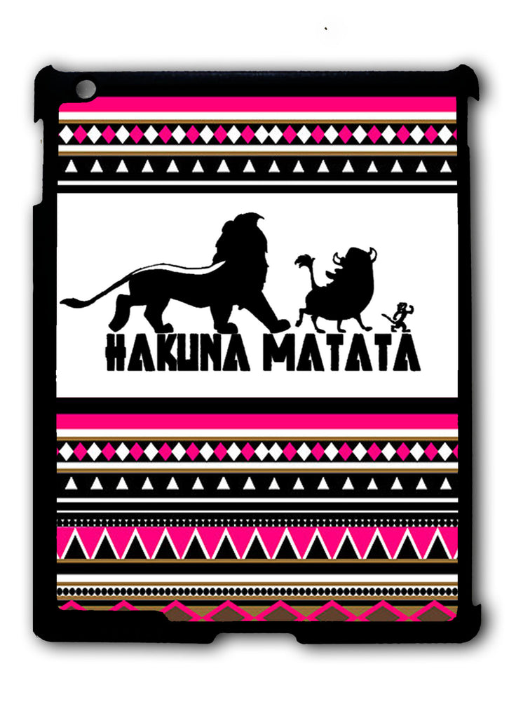 Hakuna Matata Aztec Pattern iPad 2 3 4, iPad Mini 1 2 3 , iPad Air 1 2, iPad Pro 9.7 12.9 Case