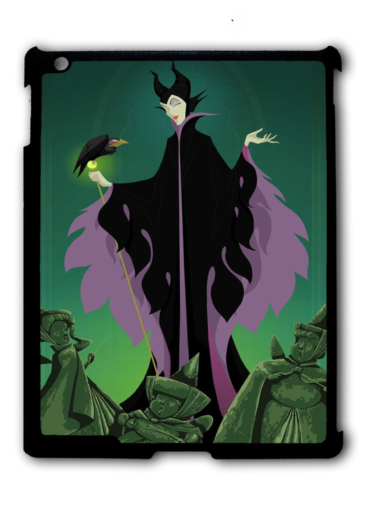 Maleficent And Diablo iPad 2 3 4, iPad Mini 1 2 3 , iPad Air 1 2, iPad Pro 9.7 12.9 Case