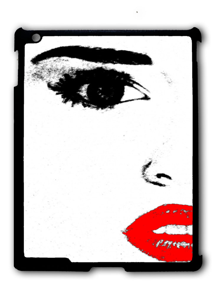 Miley Cyrus Face iPad 2 3 4, iPad Mini 1 2 3 , iPad Air 1 2, iPad Pro 9.7 12.9 Case