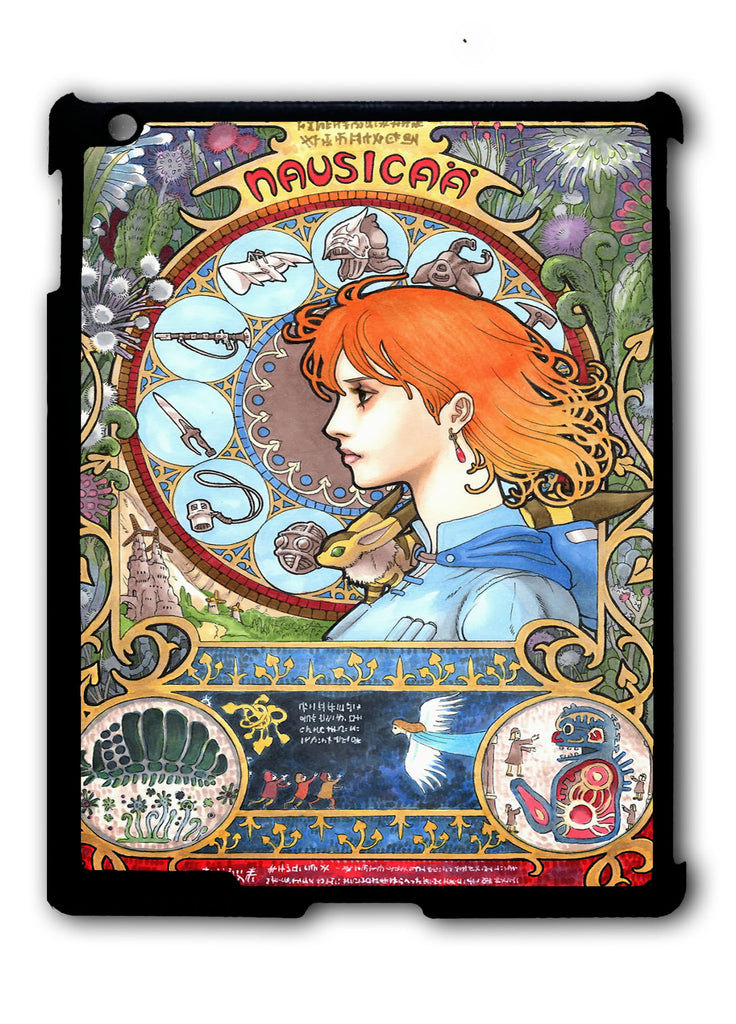 Nausicaä of the Valley of the Wind iPad 2 3 4, iPad Mini 1 2 3 , iPad Air 1 2, iPad Pro 9.7 12.9 Case