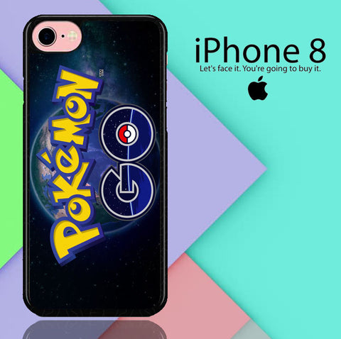 Pokemon Go Wallpaper G002 iPhone 8  Case