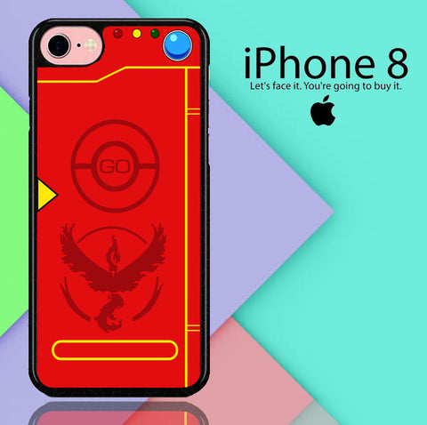 Pokemon Go Team Valor Pokedex iPhone 8  Case