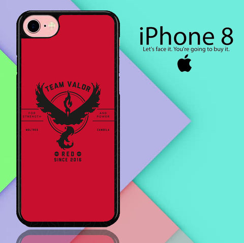 Pokemon Go Team Valor iPhone 8  Case
