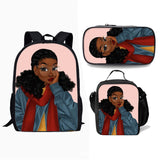 Children's decompression backpack