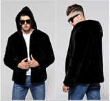 Men's jacket mink fur jacket
