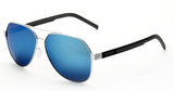 Stainless steel HD polarized sunglasses lens