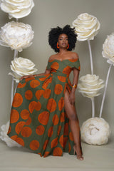 shinenows.com: African Printed Dress