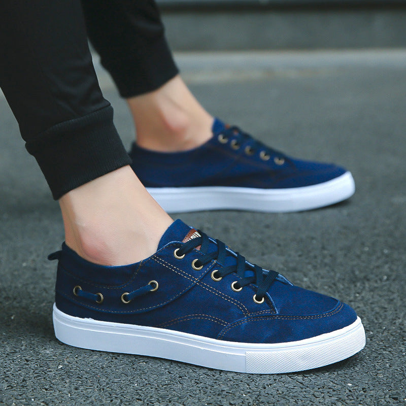Breathable casual, lazy canvas shoes