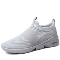 Sneaker with breathable mesh