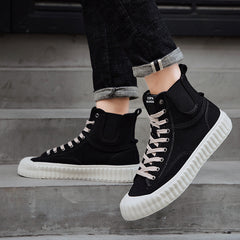 Canvas shoes high street sneakers
