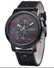 Top leather men's watch