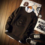 Men's hoodie pullover with a casual sweatshirt