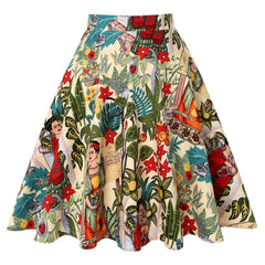 shinenows.com: vintage high waist skirt