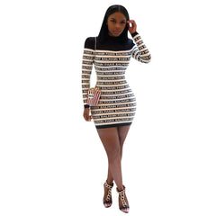 casual long-sleeved dress