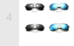 polarized sunglasses lens stainless steel HD