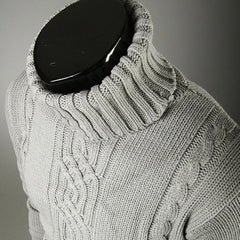 shinenows.com: pullover with high lapel pullover