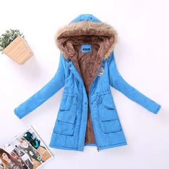 shinenows.com: Ladies jacket with wool collar