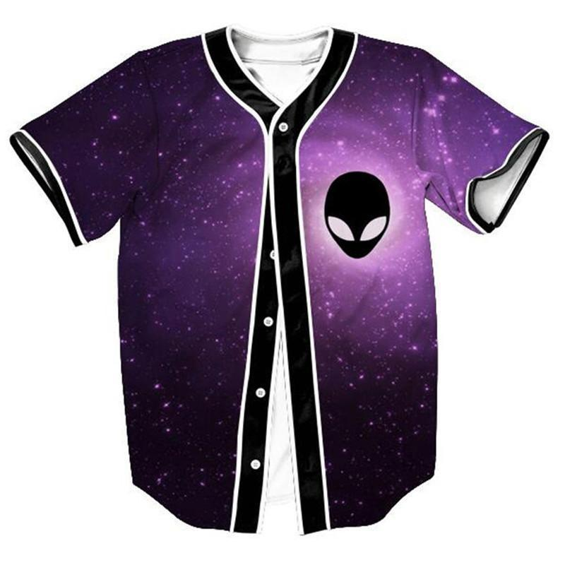 shinenows.com: Alien Jersey. The high-quality pre-shrunk microfiber polyester is very resistant to wrinkles, shrinkage or abrasion and at the same time offers the feel and appearance of pure cotton. For a perfect loose fit, we recommend choosing a size larger than usual. Easy to clean, just let the washing machine do the job.