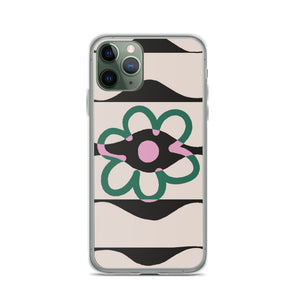 Exclusion Flower iPhone Case