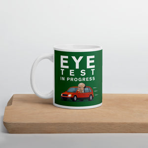Cummings Eye Test Mug