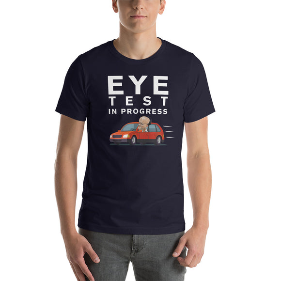 Cummings Eye Test Unisex T-Shirt