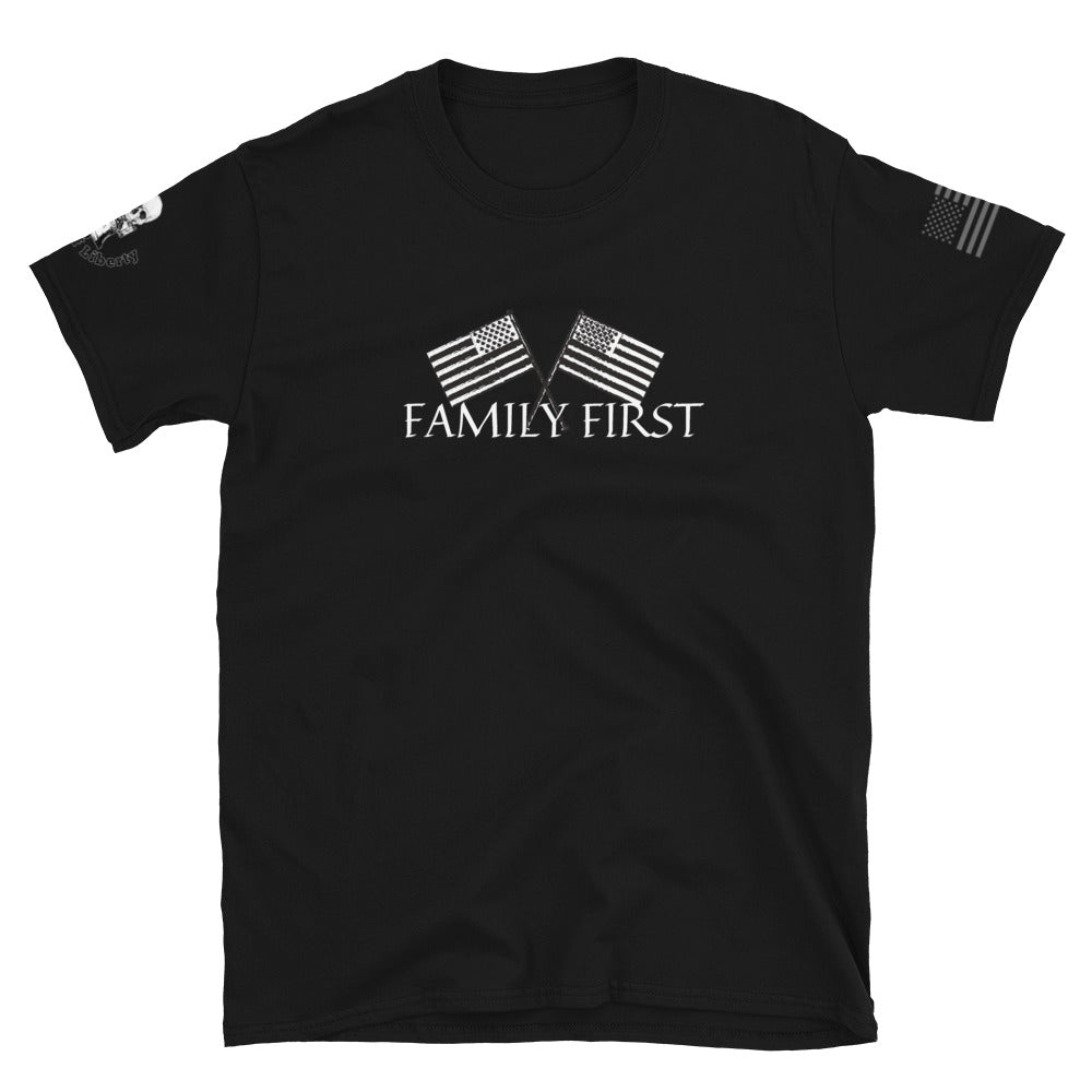 Family First Men's Graphic Tee