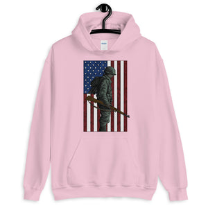 Home of the Brave Women's Graphic Hoodie
