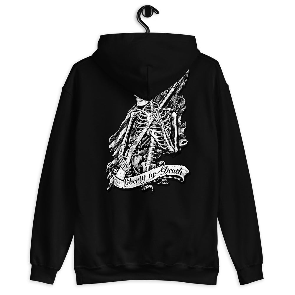 Liberty or Death Women's Graphic Hoodie