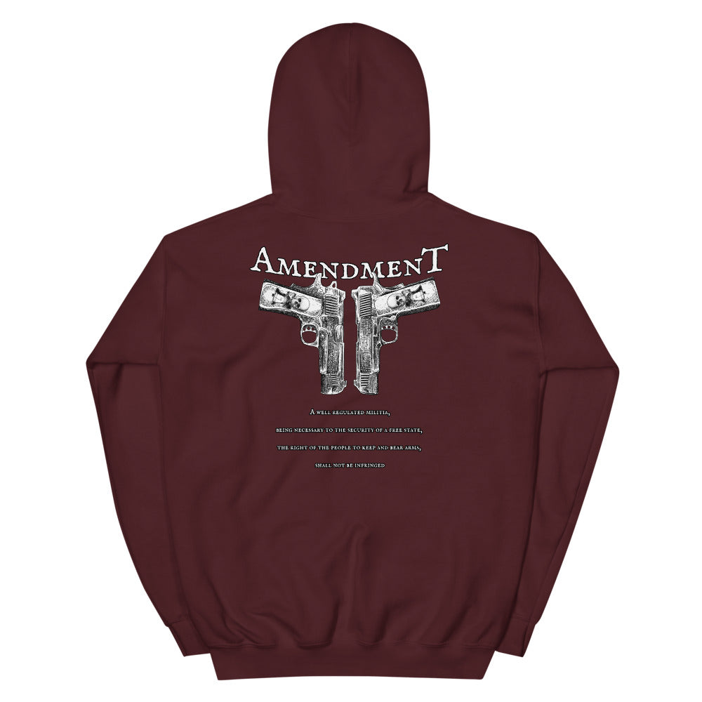 Second Amendment Men's Graphic Hoodie