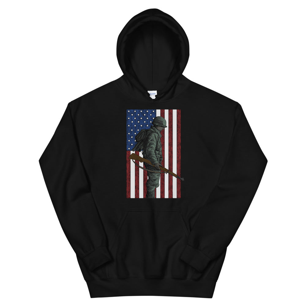 Home of the Brave Men's Graphic Hoodie