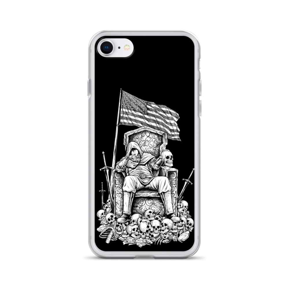 Until Death iPhone Case