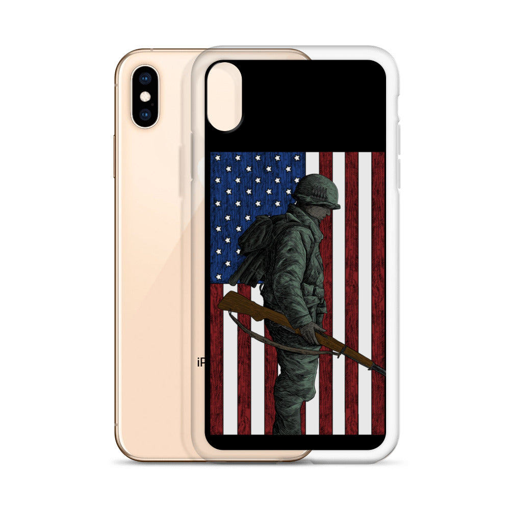 Home of the Brave iPhone Case