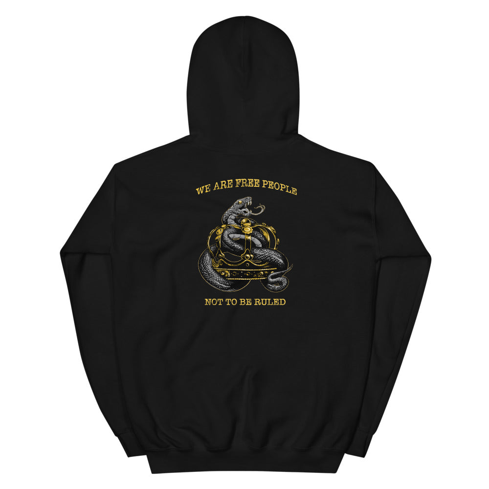 Will not be Ruled Men's Graphic Hoodie