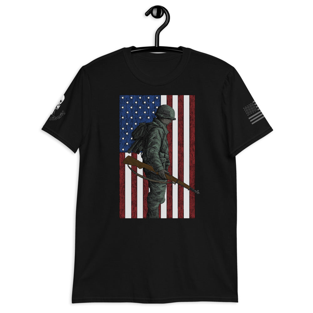Home of the Brave Women's Graphic Tee