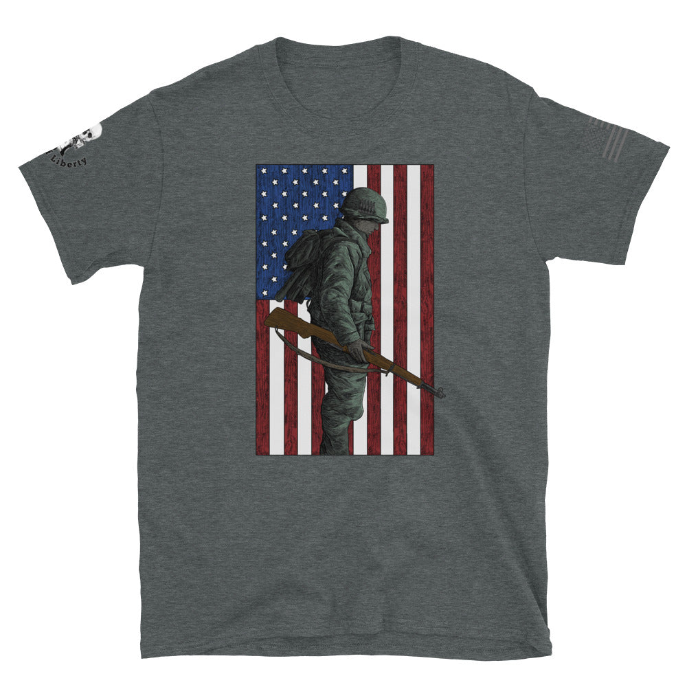 Home of the Brave Men's Graphic Tee
