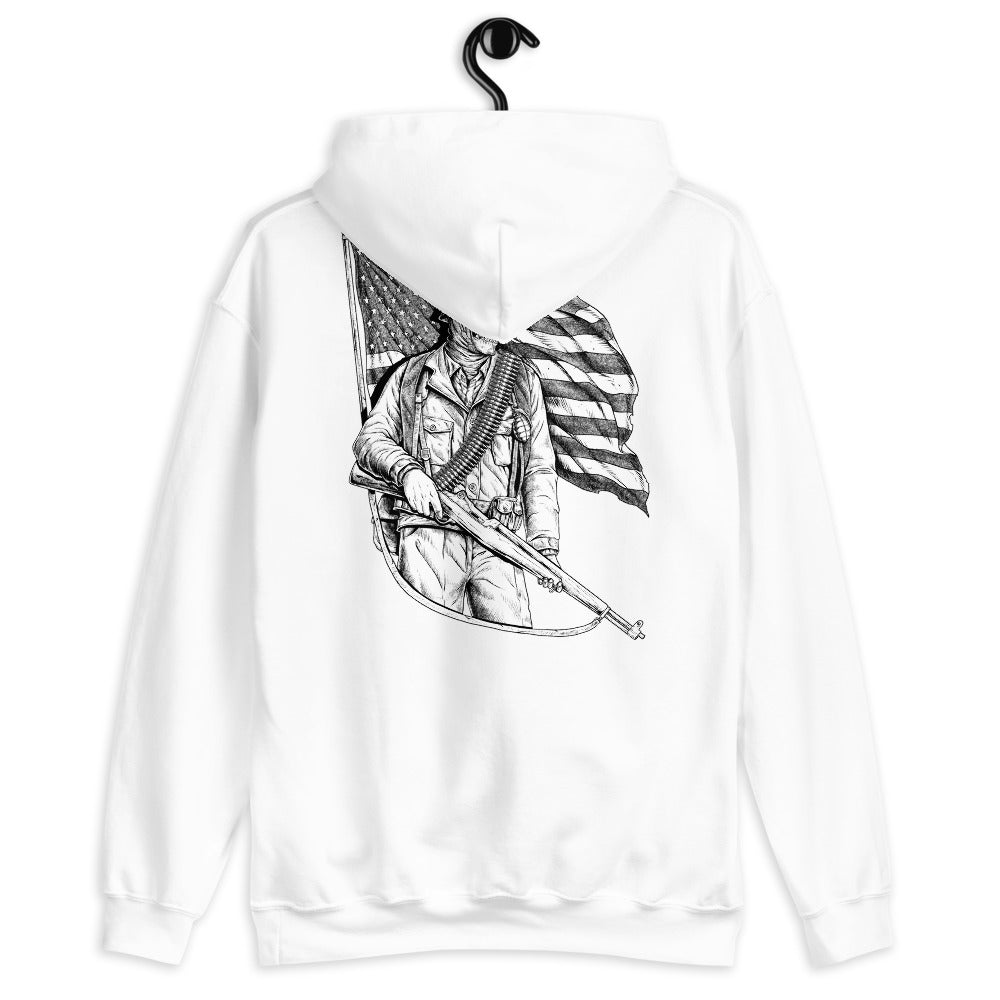 Stand for the Flag Women's Graphic Hoodie