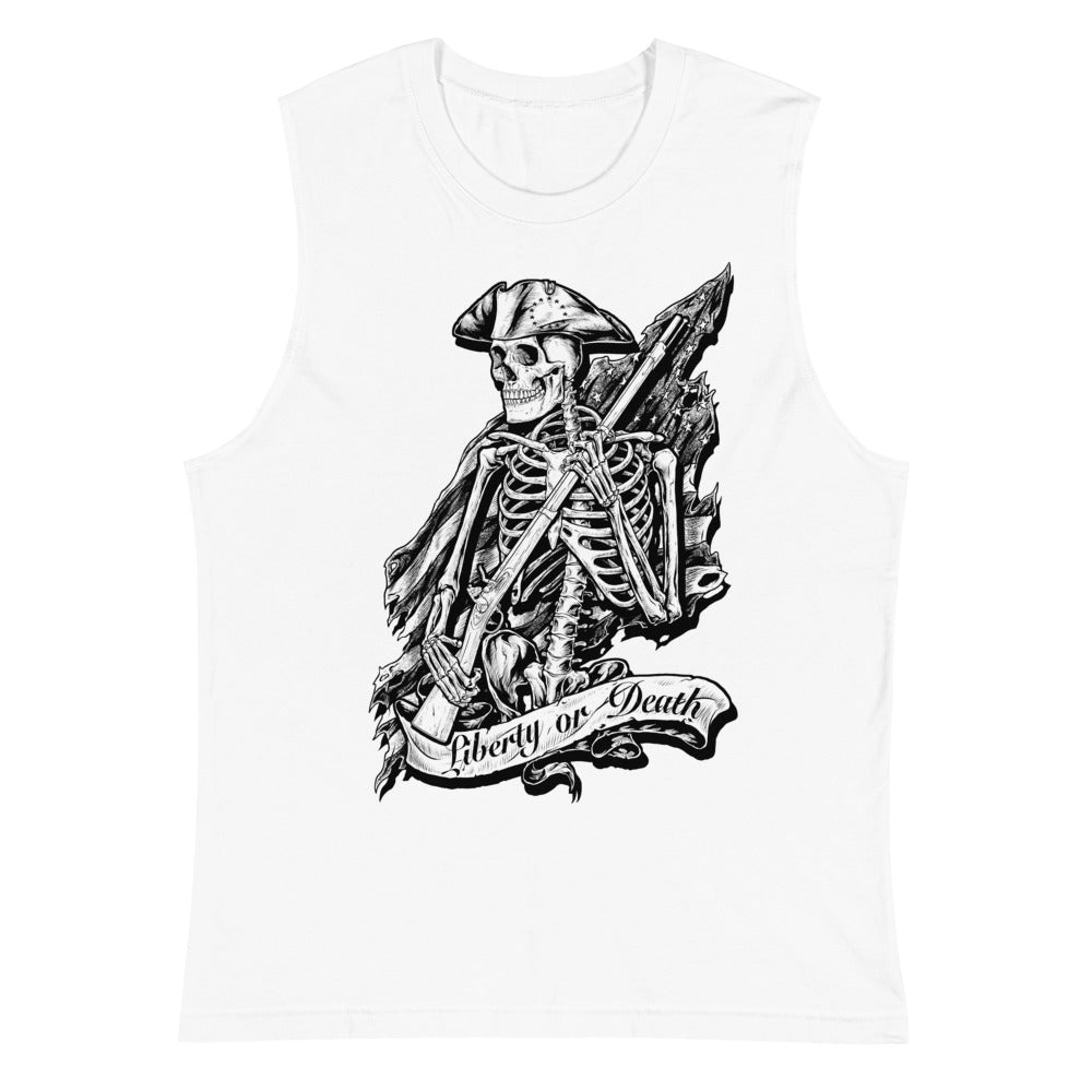 Liberty or Death Men's Muscle Shirt