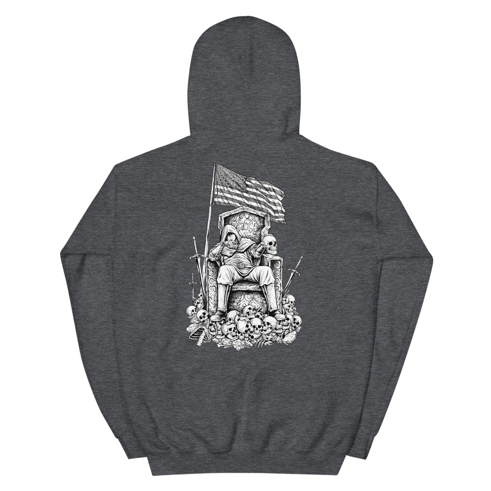 Until Death Men's Graphic Hoodie
