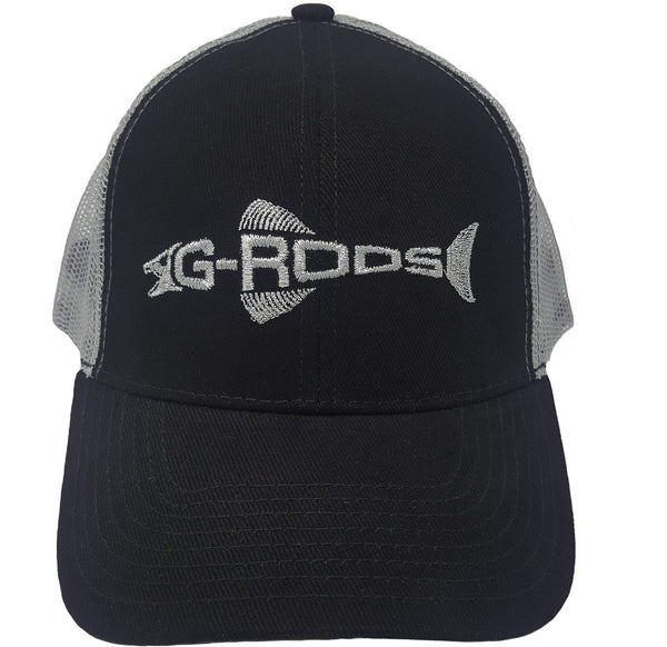 G-Rods Black/Gray Trucker Cap