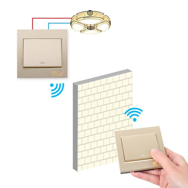 Intelligent Wireless Remote Control Switch Panel