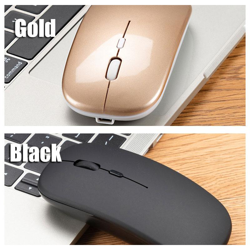 2.4G Slim Silent Click Blutooth Wireless Mouse