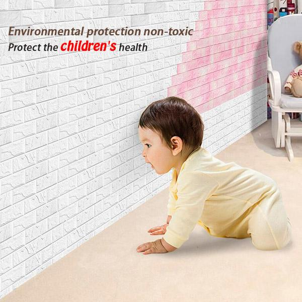 3D Brick Wall Stickers ( 30 x 50cm )