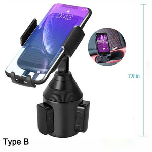Universal Cup Holder Phone Mount(50% OFF!!!)(Buy more save more)
