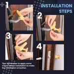 Anti-collision Silicone Protective Cover for Door Handle