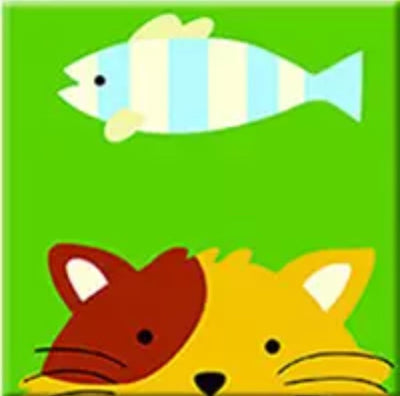 Fish Painting || Cat Painting || DIY Painting || Kid Painting